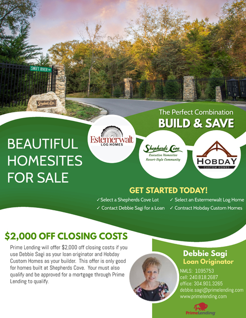 Beautiful Homesite for Sale in West Virginia