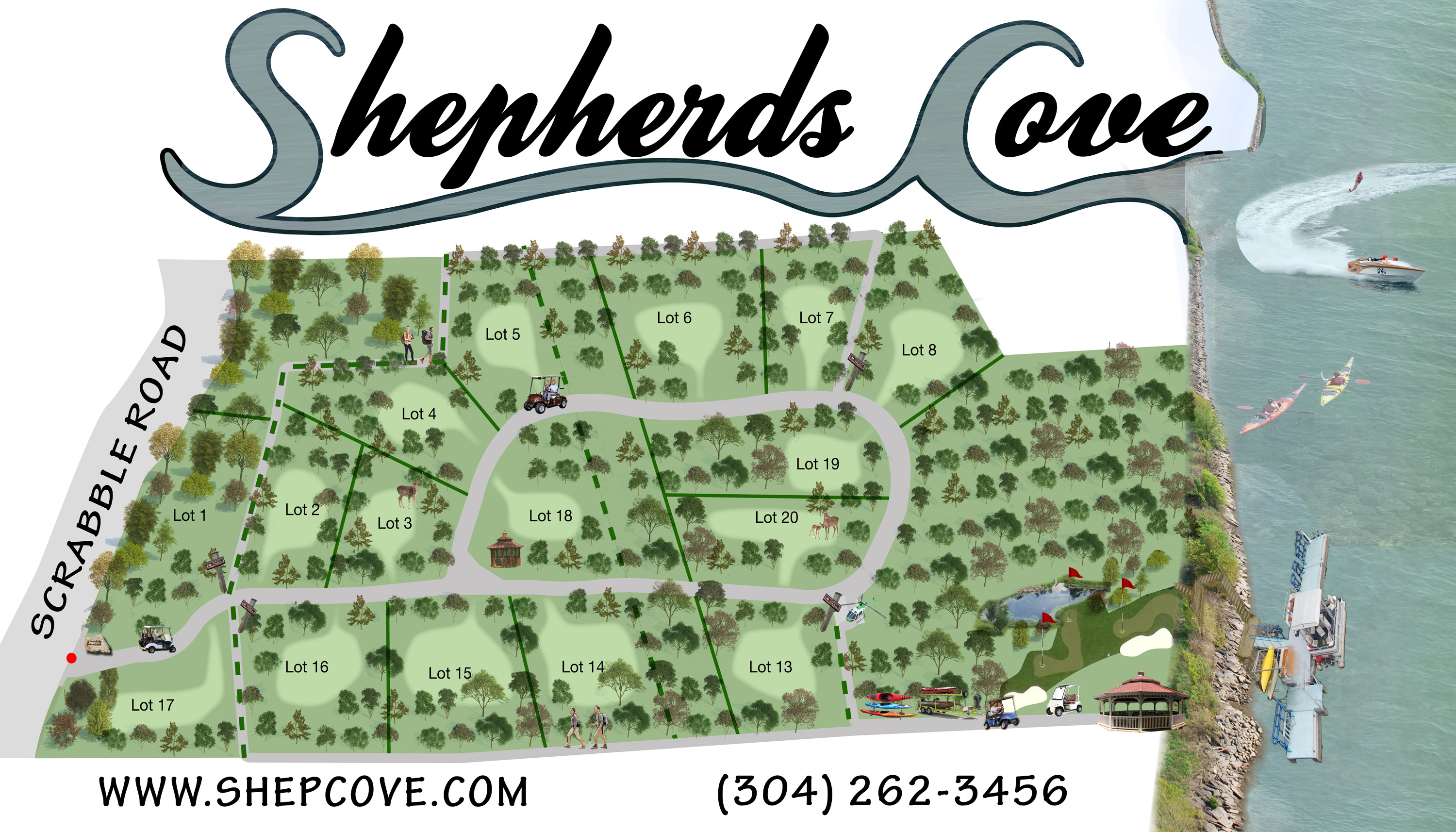 Five Acre Homesites for Sale in West Virginia